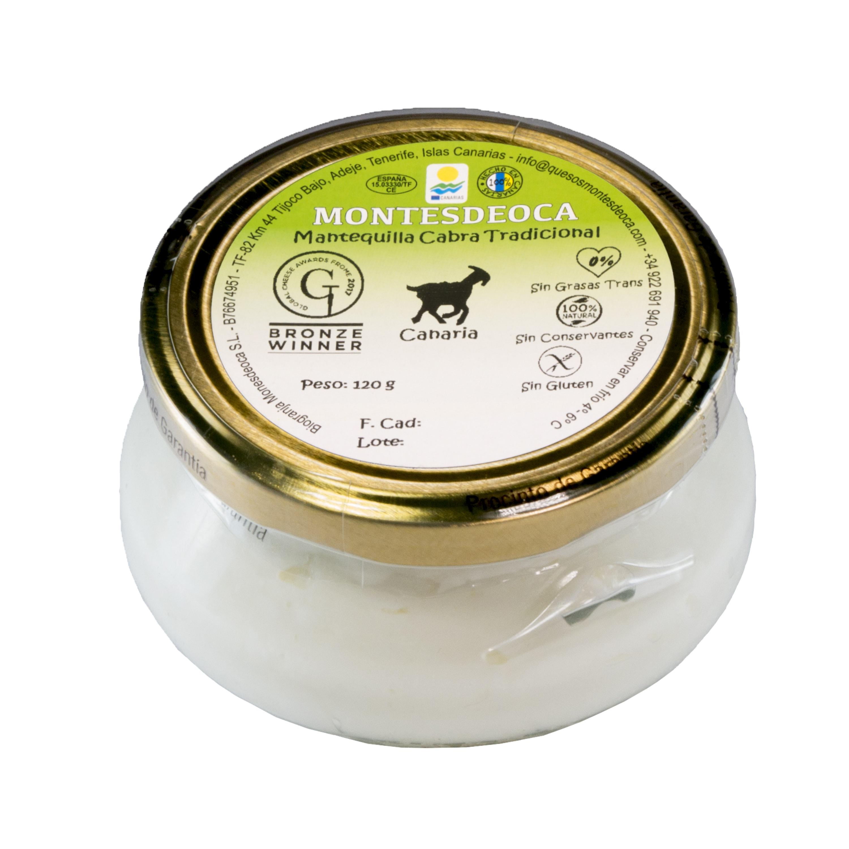 Mantequilla de cabra Montesdeoca