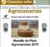 El queso de cabra viejo al gofio Montesdeoca gana una plata en Agrocanarias 2019